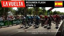 Resumen Flash - Etapa 5 | La Vuelta 19