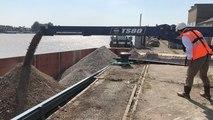 Nantes teste pour la première fois l'évacuation des déchets par la Loire