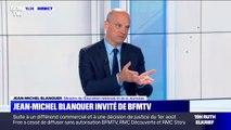 """Jean-Michel Blanquer: """"Il y a eu une fièvre qui n'était pas normale en juin-juillet"""""""