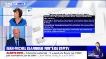 """Agressions envers les professeurs: """"On ne laissera rien passer, y compris sur les conséquences pénales"""", affirme Jean-Michel Blanquer"""