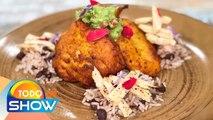 Receta: 'El Chino' prepara Moros y cristianos con pollo, el favorito de Juan Gabriel. | Todo Un Show
