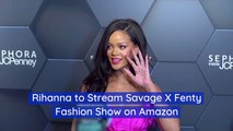 Rihanna's Savage X Fenty Runway Show On Amazon