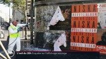 Ces marques qui envahissent les villes de leurs publicités illégalement