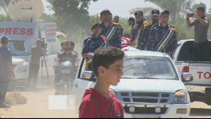 Gaza in state of alert after blasts kill 3 Hamas policemen