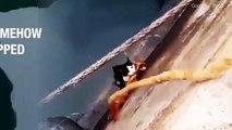 Il sauve un chat tombé à l'eau... Beau geste