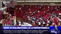 Réforme constitutionnelle: le gouvernement veut moins de parlementaires et plus de proportionnelle