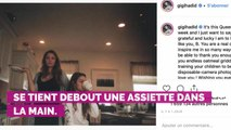 PHOTO. Gigi Hadid affiche Blake Lively en pyjama et lui adresse un tendre message pour son anniversaire