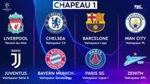 Ligue des champions : Les 32 qualifiés et les chapeaux au complet (avec le PSG, l'OL et le Losc)