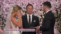 Why Bachelor in Paradise's Krystal Had to Wait 7 Minutes Before Walking Down the Aisle