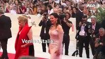 Les stars foulent le tapis rouge de la 76e Mostra de Venise