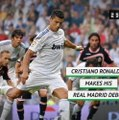 On This Day - Cristiano Ronaldo makes Real Madrid debut