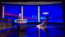 Jeopardy! Stamps on Final Jeopardy with James Holzhauer 8th Appearance (4/16/19)