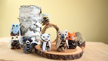 How to Make Felt & Pinecone Bears With Lia Griffith
