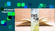 Full E-book Ethics and Law for School Psychologists  For Full