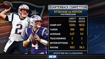Patriots Backup Quarterback Battle Heating Up As Regular Season Nears