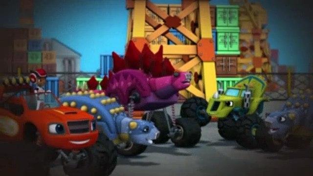 Blaze and the Monster Machines S02E15 Dinosaur Parade