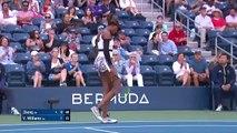 Saisai Zheng vs. Venus Williams - US Open 2019 R1 Highlights