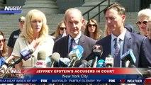 BREAKING- Jeffrey Epstein's Accusers SPEAK OUT