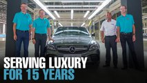 NEWS: Mercedes-Benz celebrates 15 years of production