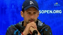 "US Open 2019 - Novak Djokovic : ""I did not know if I would be able to finish the match"""