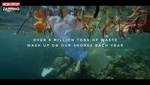 Pornhub tourne un porno sur la plage la plus sale du monde pour l'écologie (vidéo)