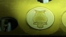 3D laser engraving of gold, and tools Teel molds, dies, minting and bullion dies made easy