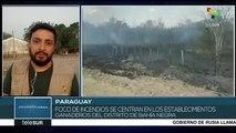 Paraguay: foco de incendios ya no es la reserva Tres Gigantes