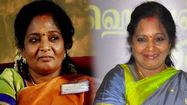 Tamilisai Soundarajan is seen with a new hairstyle now a days