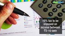 Tax bonanza: DTC panel proposes 5-slab income tax structure
