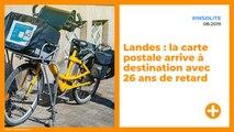 Landes : la carte postale arrive à destination avec 26 ans de retard