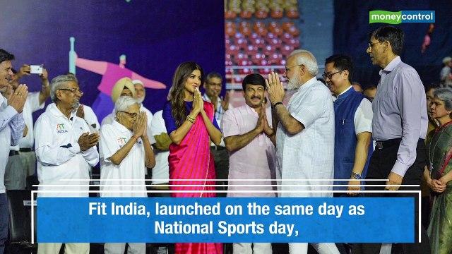 PM Narendra Modi launches 'Fit India Movement'