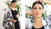 أبرز إطلالات دانة الطويرش خلال فترة الحمل