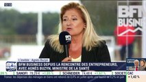 """Agnès Buzyn : """"Je cherche une cohérence complète de notre protection sociale et la retraite en fait partie"""" - 29/08"""