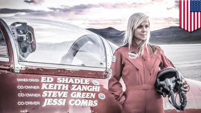 'Fastest woman on four wheels' Jessi Combs dies in jet-car crash