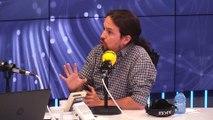 Entrevista a Pablo Iglesias en Hoy por Hoy