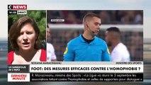 La ministre des Sports Roxana Maracineanu au sujet des cris racistes ou homophobes dans les stades: «On arrêtera les matchs car c'est interdit par le règlement et la loi» - VIDEO