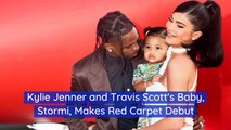 Kylie Jenner's Baby Hits The Red Carpet