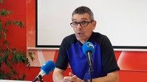 Jean-Louis Garcia, l'entraîneur de l'ASNL, réagit à la suspension d'une tribune du stade Marcel Picot