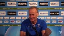La conférence de presse de Jean-Marc Furlan avant AJA-AC Ajaccio
