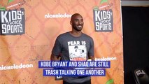 Kobe Bryant And Shaq Aren't Friendly