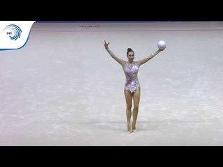 Katsiaryna HALKINA (BLR) - 2019 Rhythmic Gymnastics Europeans, ball final