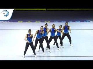 Portugal - 2019 Aerobics Europeans, junior Aero Dance final