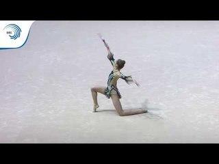 Anastasia SALOS (BLR) - 2019 Rhythmic Gymnastics European Championships, clubs final