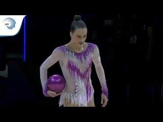 Nicol ZELIKMAN (ISR) - 2019 Rhythmic Gymnastics Europeans, ball final