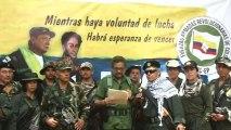 """Las FARC anuncia una vuelta a la """"lucha armada""""."""