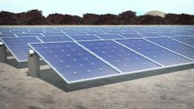 Solar panel device uses waste heat to purify water