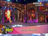 "Mirchi Music Awards 2012 – Shreya Ghoshal: Teri Meri – Bodyguard | Shreya Ghoshal feat Bappi Lahiri: Ooh La La – The Dirty Picture / Shreya Ghoshal: Ye Ishq Hai – Jab We Met | FROM: ""Mirchi Music Awards 2012"" 