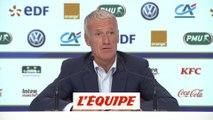 Deschamps «Appeler Laporte me semblait logique» - Foot - Bleus