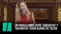 Los paralelismos entre 'sanchistas' y  'salvinistas' según Álvarez de toledo