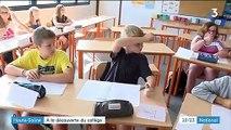 Haute-Saône : une rentrée des classes avant l'heure au collège